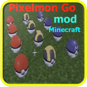New Pixelmon GO Mod MineCraft