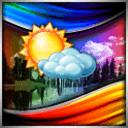 彩色天气屏幕