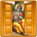 Shri Krishna Door Lockscreen