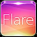 360手机桌面主题美化锁屏-Flare