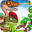 恐龙战斗战斗公园战争