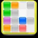 彩色方块十字消