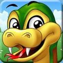 小蛇吃苹果