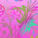浪漫多彩花瓣动态壁纸