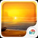 3D海滩系列之暮色海滩-梦象动态壁纸