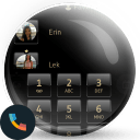 Dusk BlackGold Phone Theme