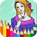 Coloring Book - Princess