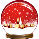 圣诞音乐水晶盒动态壁纸 FREE (PRO)