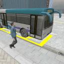 3D城市驾驶 - 巴士停车场