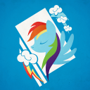 Rainbow Dash-xperia主题