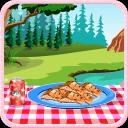 烤鱼烹饪游戏