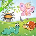 幼儿昆虫拼图