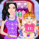 新生婴儿的公主游戏
