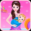 公主出生的宝宝的游戏