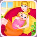生育新生婴儿游戏