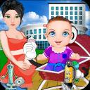 新生儿健康的宝宝游戏