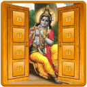 Shri Krishna Door Lockscreen