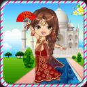 印度公主装扮