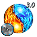 TSF Shell Theme Flames