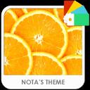 Orange Xperia Theme
