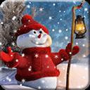 浪漫圣诞雪景免费动态壁纸免费