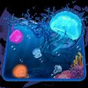Aquarium Jelly Fish 3D Theme