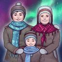 北極光里的孩子們