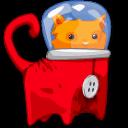 桌面主题-太空猫猫
