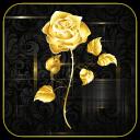 Rose Golden Live wallpaper