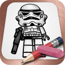 Drawing Lessons Lego Star Wars