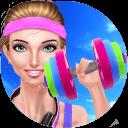 健身房时尚 - 女生化妆换装