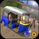 Offroad Tuk Tuk Auto driver 3D