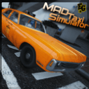 Mad Taxi Simulator Racing 2017