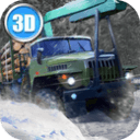 Winter Timber Truck Simulator