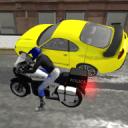警用摩托车特技3D