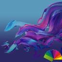 Delight Blue XZ Theme Xperia