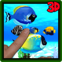 Real aquarium virtual pet fish