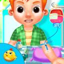 婴儿看病打针游戏