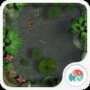 3D池塘小景-梦象动态壁纸