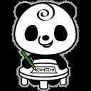 熊貓便條紙(粘)注