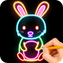 How to draw Glow Zoo
