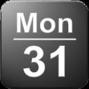 在状态栏中显示日期Date