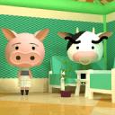 小逃生:有2只动物的房间
