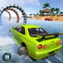 水上冲浪沙滩车驾驶
