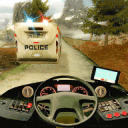 Police Bus Hill Climb Driver