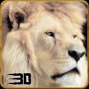 愤怒的狮子野生攻击辛3D