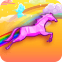 Three Unicorn Rainbow Dash