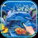 Magic Wave Fish Aquarium