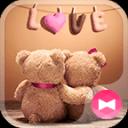 壁纸·图标 熊熊情侣