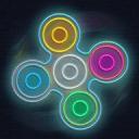 Fidget Spinner Glow Simulator